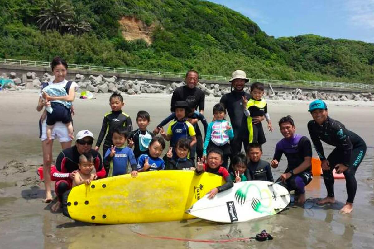 Kids Surf School 2015