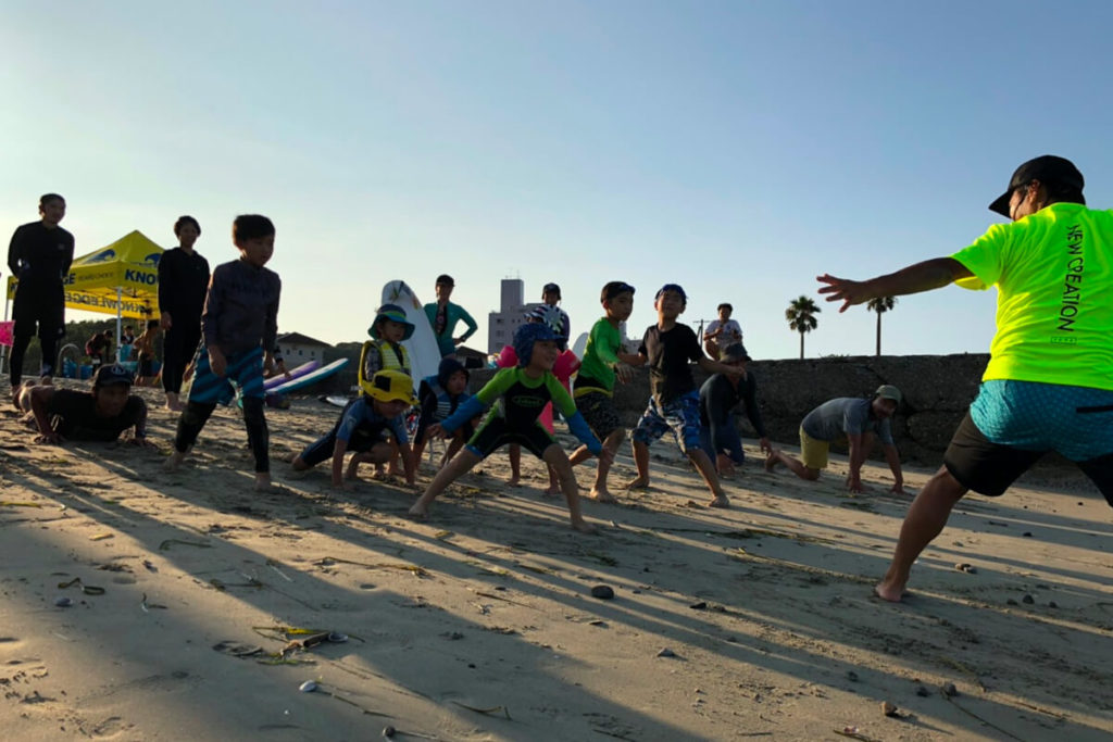 Kids Surf School 2019